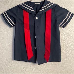 Non Smoker Little Boy's Vintage Classic Sailor